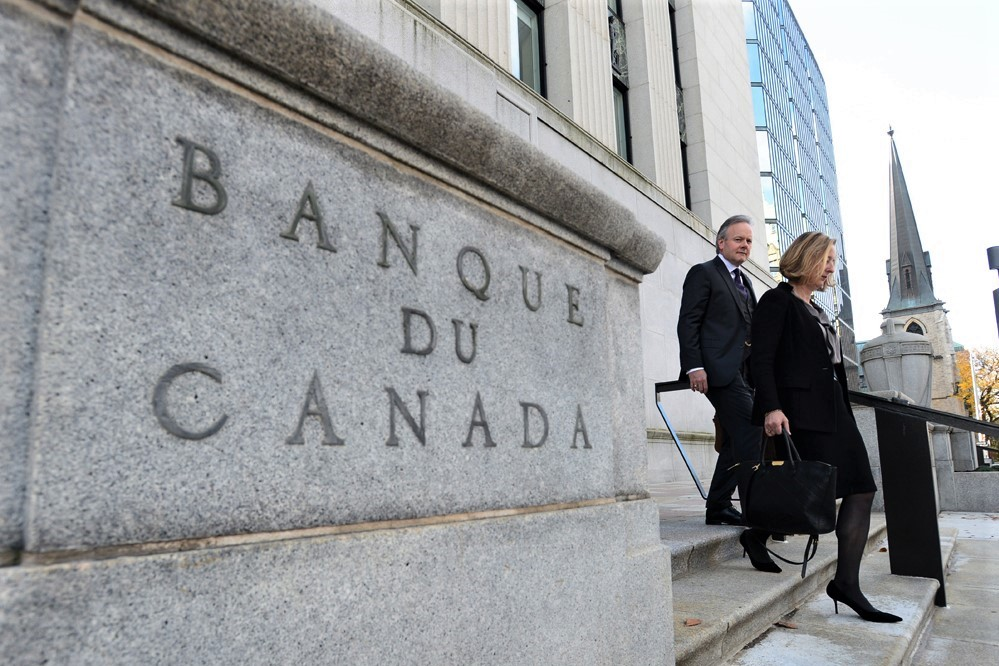 Bank of Canada maintains overnight rate target at 1 ¾ percent