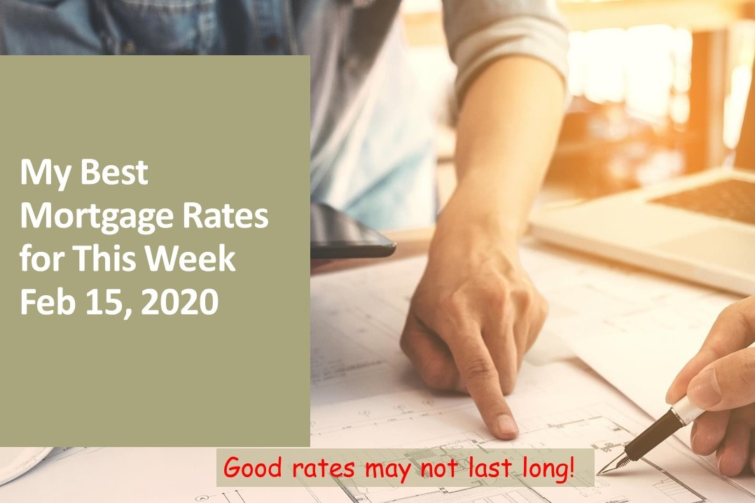 My Best Rates for This Week