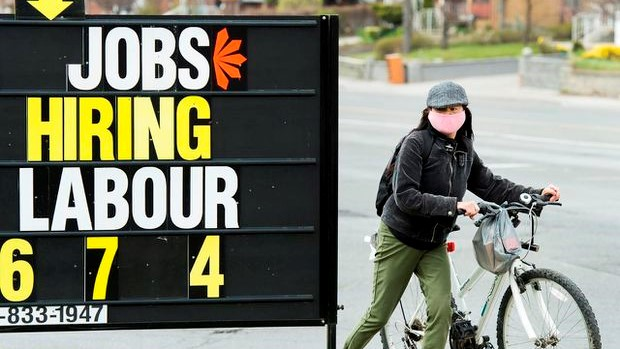 Canadian economy adds 419,000 jobs in July; more than half of pandemic losses now recouped